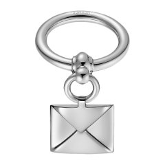 HERMES/爱马仕 女士金色镀钯黄铜Loop Charms Enveloppe围巾环丝巾扣 H60200 多色可选图片