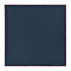 HERMES/爱马仕 男士纯色复古丝绸斜纹H Attack印花丝巾方巾头巾围巾口袋巾 H806085T 多色可选图片