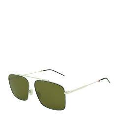 DIOR/迪奥 时尚 休闲 合金 全框 男女款 太阳镜 方形 潮流 银色反光 茶棕色镜片 墨镜 眼镜 DIOR0220S 58mm DIOR 迪奥图片