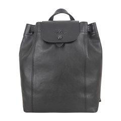 Longchamp/珑骧 LE PLIAGE CUIR系列女士纯色皮质按扣开合双肩包手提包背包女包 10089757 多色可选图片