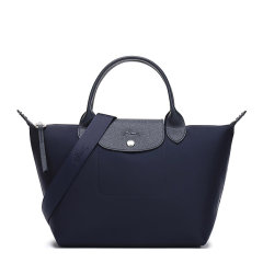 Longchamp/珑骧 LE PLIAGE NEO系列女士纯色织物配皮短柄小号单肩包斜挎包手提包饺子包女包 1512598 多色可选图片
