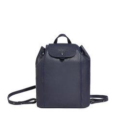 【包税】Longchamp/珑骧 LE PLIAGE CUIR系列女士纯色皮质按扣开合双肩包手提包背包女包 10089757 多色可选图片