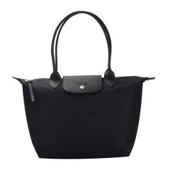 Longchamp/珑骧 LE PLIAGE NÉO系列女士纯色尼龙配皮拉链开合小号长柄单肩包手提包托特包女包 2605598 多色可选图片