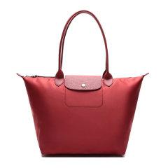 【包税】Longchamp/珑骧 LE PLIAGE NÉO系列女士纯色尼龙大号长柄按扣拉链开合手提包单肩包托特包女包 1899598 多色可选图片