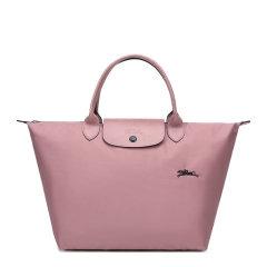 【包税】Longchamp/珑骧 LE PLIAGE系列 女士尼龙logo中号短柄手提包挎包拉链包饺子包可折叠女包 多色可选图片