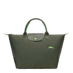 Longchamp/珑骧 LE PLIAGE CLUB系列女士纯色织物按扣拉链开合短柄可折叠手提包饺子包女包 1623619 多色可选图片