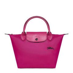 Longchamp/珑骧 LE PLIAGE CLUB 系列女士纯色尼龙按扣拉链开合小号短柄可折叠手提包饺子包女包 1621619 多色可选图片