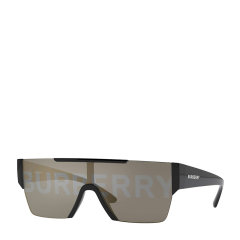 【爆款主推 预售】BURBERRY/博柏利  明星同款太阳镜一片式字母印花墨镜护目镜潮BE4291图片