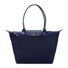 Longchamp/珑骧 LE PLIAGE NÉO系列女士纯色尼龙大号长柄按扣拉链开合手提包单肩包托特包女包 1899598 多色可选图片