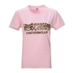 MOSCHINO/莫斯奇诺 女士 服装 21春夏 多色可选圆领棉质字母LOGO短袖T恤 女士短袖T恤图片