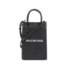 【国内现货】Balenciaga/巴黎世家 女士皮革手提单肩斜挎包手机包 593826 0AI2N图片
