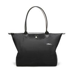 【国内现货】Longchamp/珑骧 女士LEPLIAGE系列织物大号长柄可折叠手提单肩包购物袋 1899 619图片
