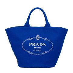 PRADA/普拉达 女士Prada徽标印花饰织物手提包女包 1BG163_ZKI_V_OOO 21年春夏图片