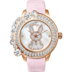 【21春夏】Galtiscopio/迦堤手表女欧美手表送女友礼物时尚镂空小表盘石英女士手表图片
