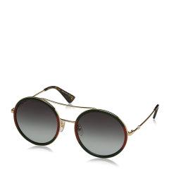 GUCCI/古驰 【 倪妮同款】女士时尚圆形飞行员太阳镜墨镜GG0061S多色可选图片