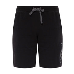 EA7/EA7阿玛尼【21春夏】短裤黑色刺绣微标棉质男裤运动休闲裤111918 0A571图片