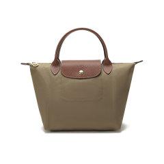 【国内现货】Longchamp/珑骧 女士LePliage系列织物小号短柄可折叠手提包 1621 089图片