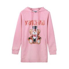 【包税】MOSCHINO/莫斯奇诺  时尚泰迪熊系列连帽卫衣裙长裙 女卫衣  女款图片