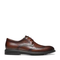 ELLE/ELLE  21春夏新款 牛皮 男士商务正装鞋 系带英伦风 皮鞋图片