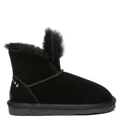 """【现货速发】【雪梨联名款】EVER UGG/EVER UGG 儿童靴子 联名亲子款 """"兔二代""""长耳兔雪地靴牛二层羊毛牛绒EA3060K图片"""