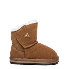 【现货速发】EVER UGG/EVER UGG 儿童靴子  秋冬季新款防滑皮毛一体婴儿学步鞋高帮儿童软底棉鞋羊毛雪地靴 - EA3009K图片