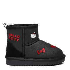 【现货速发】EVER UGG/EVER UGG 儿童靴子  TARRAMARR冬季新款防滑保暖雪地靴刺绣图案羊皮毛一体时尚雪地靴 Kitty - TA3048K图片