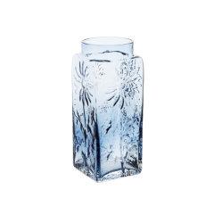 英国进口DARTINGTON彩色水晶琉璃花瓶客厅插花瓶摆件北欧轻奢水养图片
