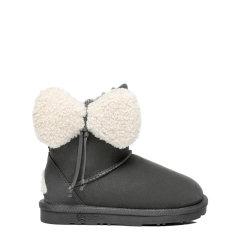 【现货速发】EVER UGG/EVER UGG 儿童靴子 澳洲时尚经典款羊毛内里牛反绒童鞋儿童蝴蝶结大耳朵雪地靴 Kids Vela - EA3025K图片