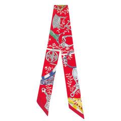 【爆款主推现货秒发】HERMES/爱马仕  新款Twilly小丝巾(配HERMES礼品盒和礼品袋)图片