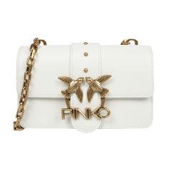 【包税】Pinko/品高 基本款飞鸟纯链条肩带燕子包  1P21KS Y5FF图片