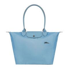 Longchamp/珑骧 LE PLIAGE CLUB系列大号女士帆布奔马徽标刺绣长柄可折叠单肩包饺子包手提包托特包女包 1899619 多色可选图片