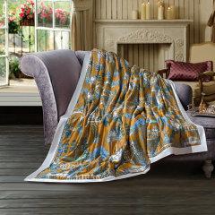 Fantti /芬缇 床上用品40支天丝印花可水洗夏被空调被夏凉被夏季单双人薄被床品套件-皇家花苑图片