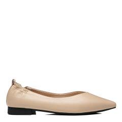 【2021春夏新款】EVER UGG/EVER UGG 平跟鞋 时尚真皮一脚蹬懒人鞋平底鞋女EA7017图片