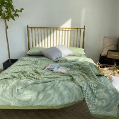 Fantti /芬缇 床上用品蚕蛹蛋白全棉印花夏被可水洗夏被空调被夏凉被夏季单双人薄被床品套件图片