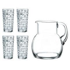 德国NACHTMANN进口水晶玻璃杯家用轻奢果汁杯扎壶凉水壶柠檬杯图片