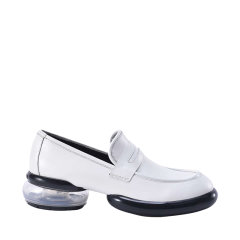 澳洲Auspecial 2021春夏新款开边珠牛皮时尚平底单鞋女简约舒适透气AU3146图片