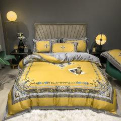 Fantti/芬缇 床上用品60支天丝数码印花四件套被罩床罩被单枕套床盖图片