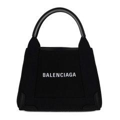 【包税】Balenciaga/巴黎世家 女士拼色小牛皮织物配皮单肩包手提包女包 390346-2HH3N-9260图片