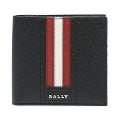 【包税】BALLY/巴利 新款男士钱包经典红白条纹短款折叠钱包6224893图片
