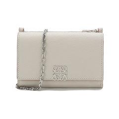 【国内现货】LOEWE/罗意威 女士牛皮革Anagram单肩斜挎包链条包钱包卡包 C821374X05图片
