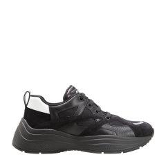 【大陆现货秒发】系带款白色/灰色拼色男士休闲运动鞋 男鞋 PRADA/普拉达图片