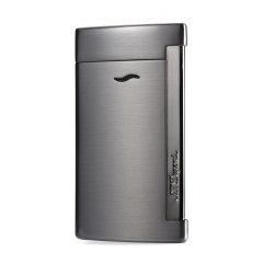 S.T. DUPONT/都彭Slim7系列 烤漆轻薄刀片充气防风打火机烟灰缸气体礼盒套装 送皮套27700/27701/27708/27712图片
