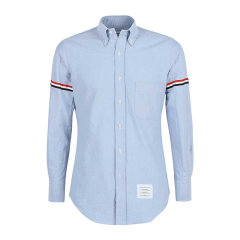 Thom Browne 男士 服装 21春夏 翻领棉质系扣长袖衬衫 男士长袖衬衫图片