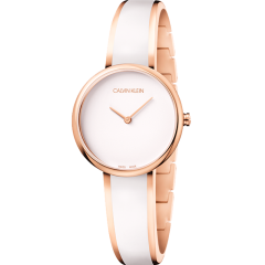 Calvin Klein/卡尔文·克莱因ck诱惑系列腕表 时尚休闲简约石英钢带女表K4E2N616图片