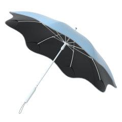 【2021年新品上市】MISS RAIN/MISS RAIN 圆角直杆太阳伞女晴雨两用遮阳伞防晒防紫外线女大号雨伞 无伞尖防晒防紫外线UPF50+图片