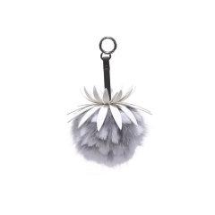 【礼盒装】EVER UGG/EVER UGG 钥匙扣 可爱小菠萝狐狸毛玩偶吊坠钥匙扣 51040图片