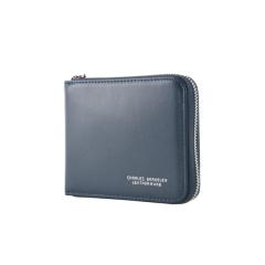 Charles Berkeley/Charles Berkeley ETHAN系列 男士 牛皮 拉链款 短皮夹 钱包 RFID防盗功能 信用卡包 (XY-1958)图片