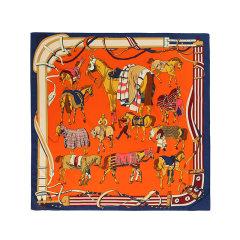 【礼盒装】【2021春夏新款】EVER UGG/EVER UGG 丝巾 TARRAMARRA时尚百搭几何图案丝巾TAZB2116图片