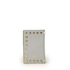 【包税】Valentino/华伦天奴  女包 时尚 铆钉装饰 女士皮革钱包 UW2P0R14VSH 0NO HKY015678图片