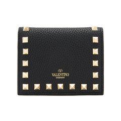 【包税】Valentino/华伦天奴  女包 时尚 铆钉装饰 女士皮革钱包 UW2P0R39VSH 0NO HKY015678图片